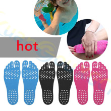 Силиконовые унисекс пляжные накладки для ног, стельки для мужчин, удобные водонепроницаемые невидимые Противоскользящие коврики для обуви, женские накладки для ног