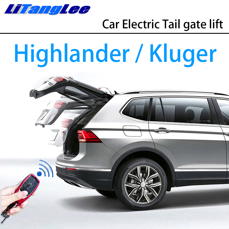 LiTangLee Car Electric Tail Gate Lift Trunk Rear Door Assist System For Toyota Highlander Kluger XU50 2014~2019 Remote Control