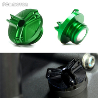 Motorcycle Engine Oil Cap Cnc Filler Cover Plug M20 2 5 For Kawasaki Z900 Versys 1000