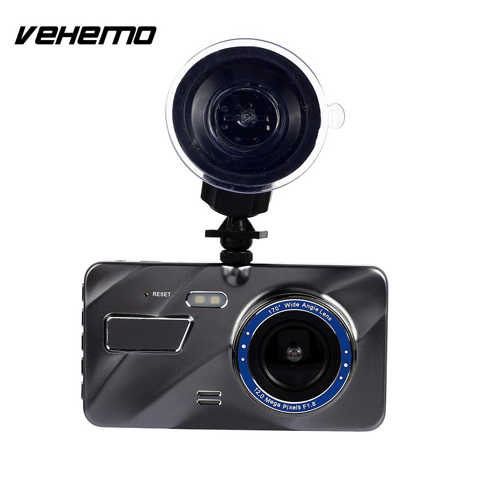 4 Inch Durable Driving Recorder Auto On/Off G-Gensor Rearview Mirror Car DVR Loop Recording Dash Cam