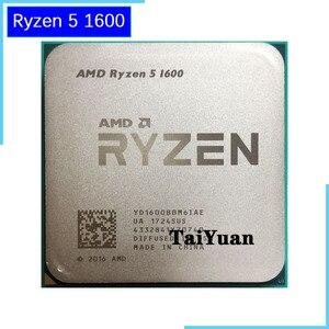 Image 1 - AMD Ryzen 5 1600 R5 1600 3.2 GHz 6 コア CPU Processoe YD1600BBM6IAE ソケット AM4