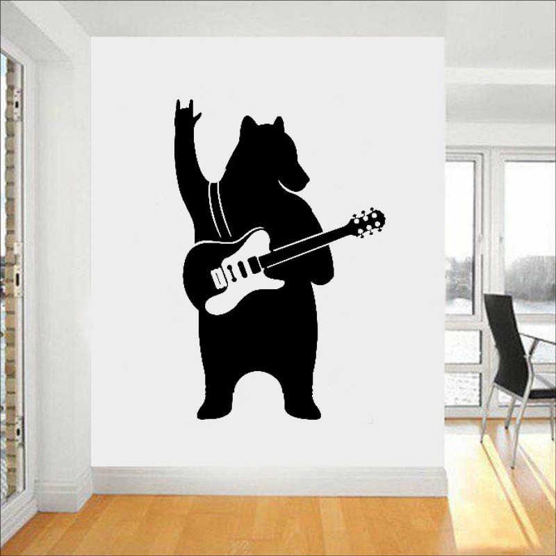 Guitar Wall Decals Vinyl Sticker