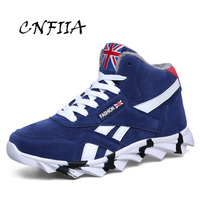 CNFIIA Sneakers Star Men Shoes Casual 2018 Winter Sneakers Men 2018 Blue Red Black Trainers Sneakers Male Shoes Fashion Lace Up