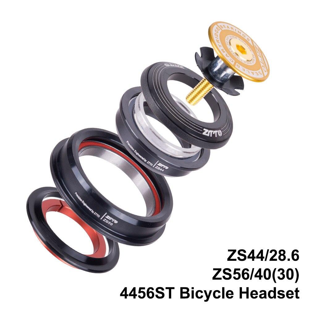 garfo em linha reta zs44 zs56 bicicleta