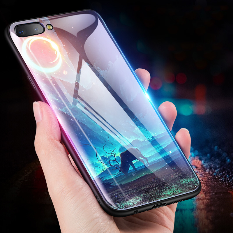 Odifren Space Case For iPhone 7 8 Plus Cases For iPhone X Phone Back Cover PC