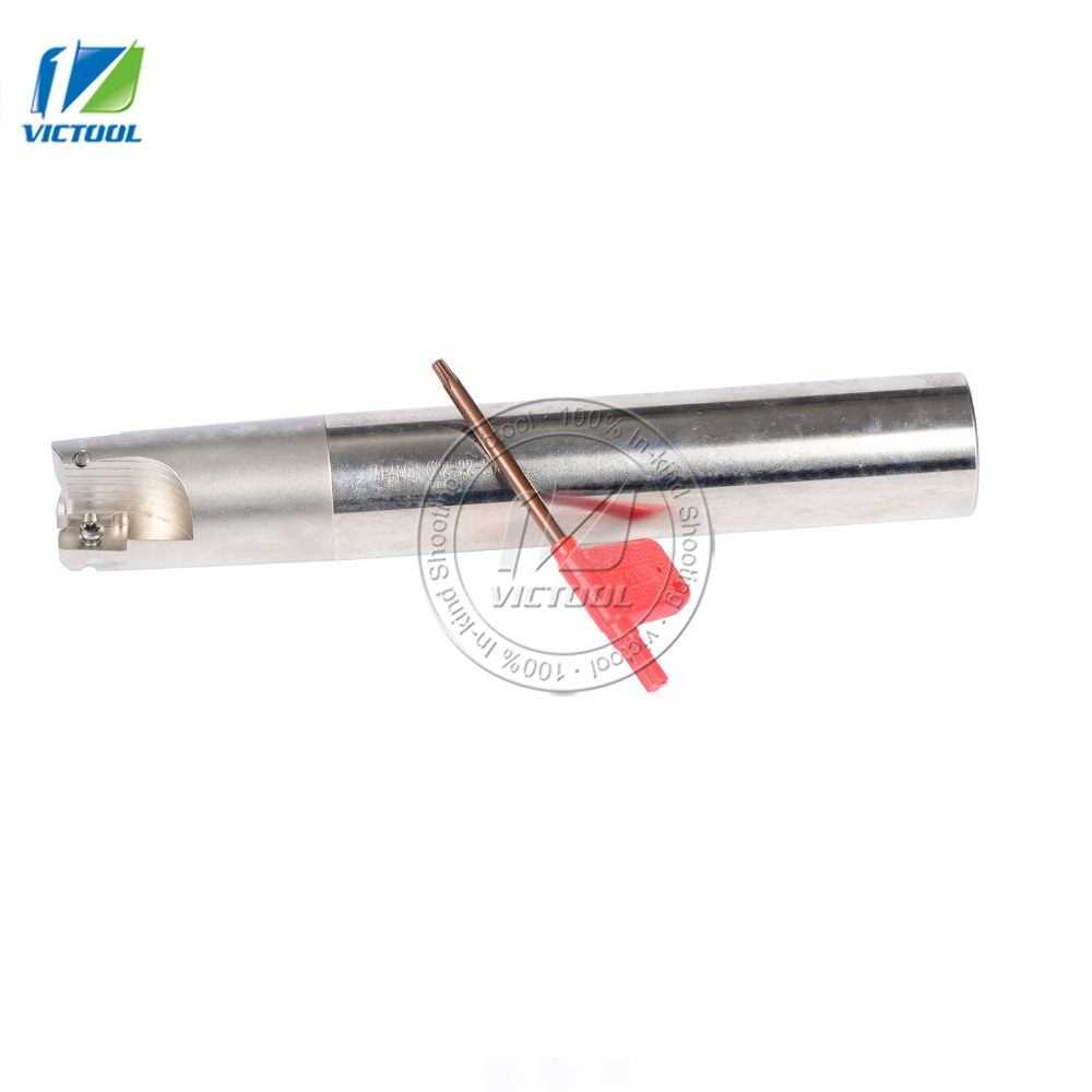 Free Shipping JAP400RC32-32-200-3T Indexable Face Mill Holder length 200mm CNC Mill Tool Holder,Milling Tools 2x12mm lathe parting cutting milling tool holder with 5 blades 200mm