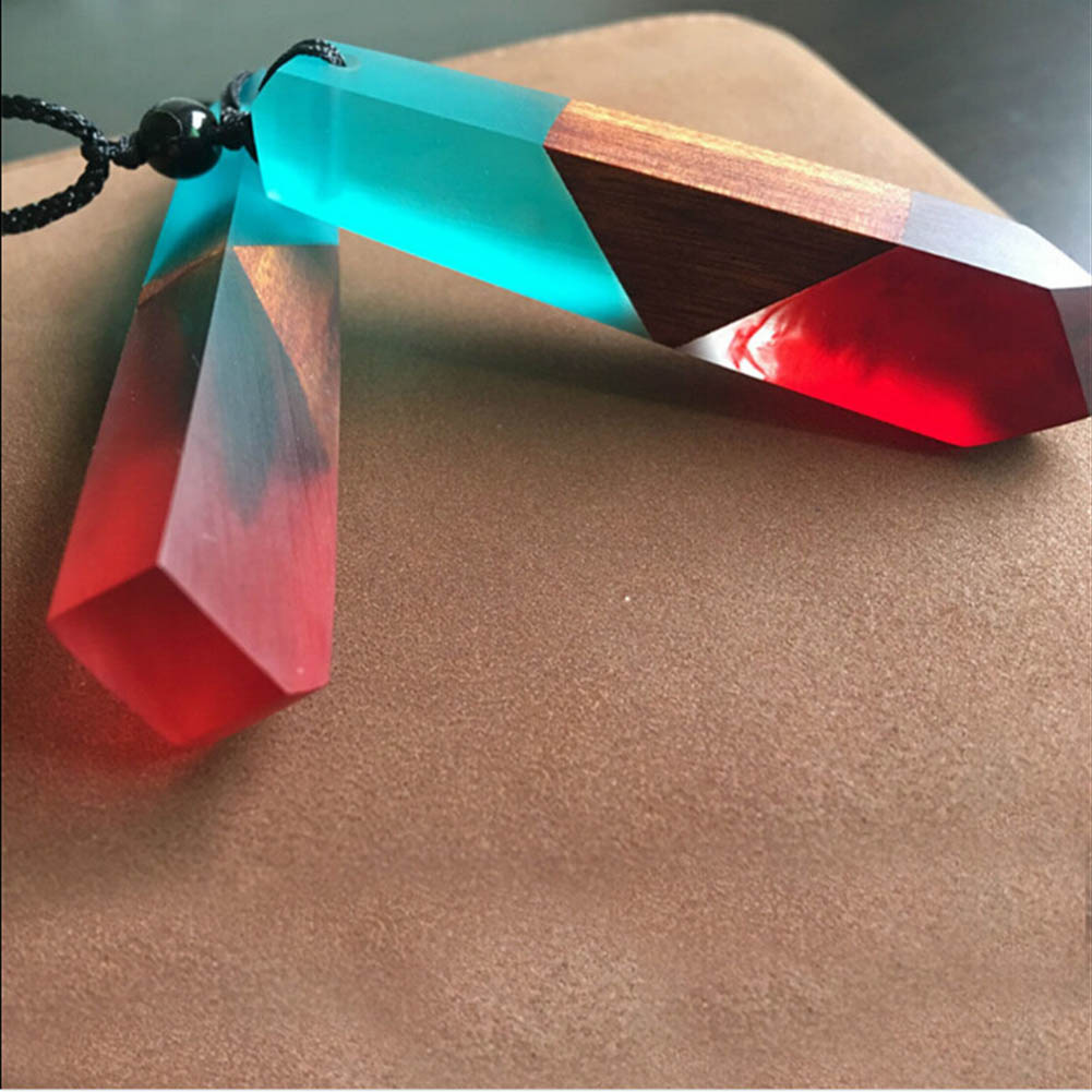 Wood Stylish Hot Sale Resin New Necklace Excellent Accessory Perfect Modern Design Individual