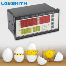 LEDSMITH XM-18  Automatic Incubator Controller Temperature Humidity Controller For Egg Hatcher full automatic egg incubator controller thermostat hygrostat with temperature humidity sensor probe