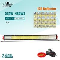 CO LIGHT 4 Row 12D 32 Offroad LED Light Bar 564W Combo Led Work Light 12V 24V for Truck ATV 4WD 4x4 Led Bar Auto Driving Lamp