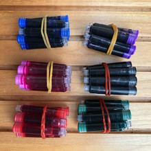 Best Price 60 PCS Disposable Blue Black Red Fountain Pen Ink