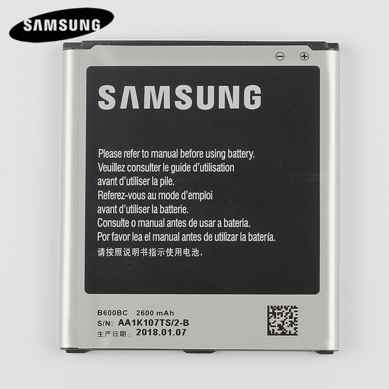 100% Original Replacement Battery B600BC For Samsung GALAXY S4 I9500 I9505 I9506 I9507 I9508 SCH-P709E P709E 2600mAh with NFC