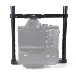 Image 5 - SmallRig Universal VersaFrame Cage For Canon EOS 1DC/1DX/Nikon D3X/D3S/Sony a7//a7II/Panasonic GH5/GH3/GH4/Fujifilm X T2  1750