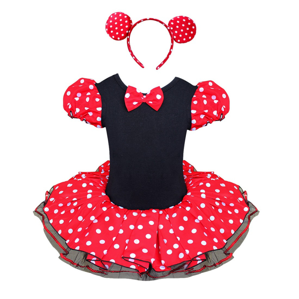 buy 2017 new girls dress summer retail minnie mouse dress mini mouse costume. Black Bedroom Furniture Sets. Home Design Ideas