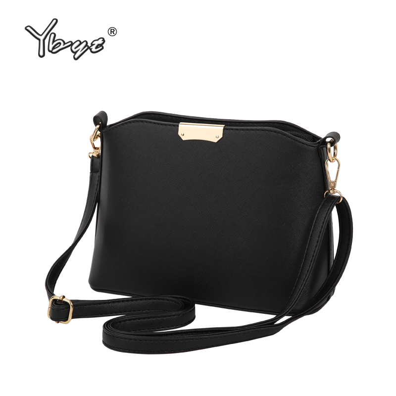 YBYT brand 2018 new simple casual women satchel hot sale lady high quality shopping shell bag shoulder messenger crossbody bags