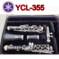 17 Key Drop B Professional Clarinet Silver Plated B Flat Klarinet Bakelite Nickel Plated Clarinet  Musical Instruments With Case