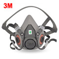 Pintura cuerpo principal máscara media máscara de polvo máscaras respirador máscara de gas accesorios envío gratis