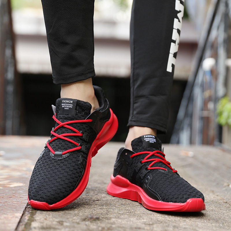 DorisFanny Men walking Sneakers shoes for male Spring air Breathable max 97 trainers Shoes red black sneakers man sport trekking
