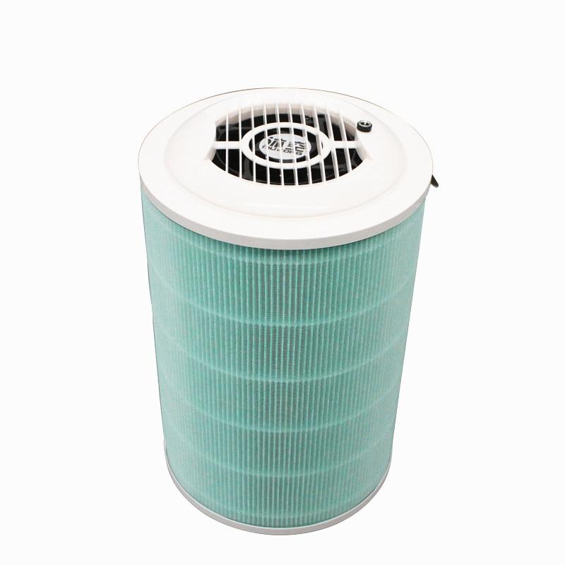 Air Purification Small Demisting Haze Formaldehyde Smoke Fan Fan Filter Element Assembly Simple Purifier f007 vacuum pump intake air filter assembly fan air filter assembly interface 3 inch wire height 258mm outside diameter 222mm