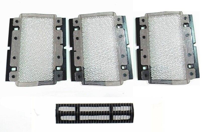 1 Cutter+3x628 Shaver Foil For BRAUN 3770 3600 3000 3610 3614 3732 3733 3775 3734 5628 5629 5634 3310 Shaver Razor Mesh Grid Net