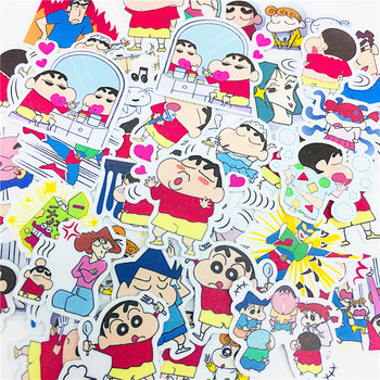 38 PCS Cartoon disobedient naughty boy Stickers Crafts And Scrapbooking stickers book Student label Decorative sticker kids toys image