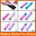 Battery Stickers Replacement Pull Strip Tab Adhesive Glue For iPhone 5S 6 6Plus 6S 6S Plus Repair Spare Parts