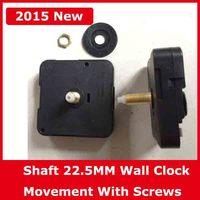 Shaft 22 5MM Quartz Wall Clock Movement Repair Long Shafts Wall Clock Machine Screw Black Cover