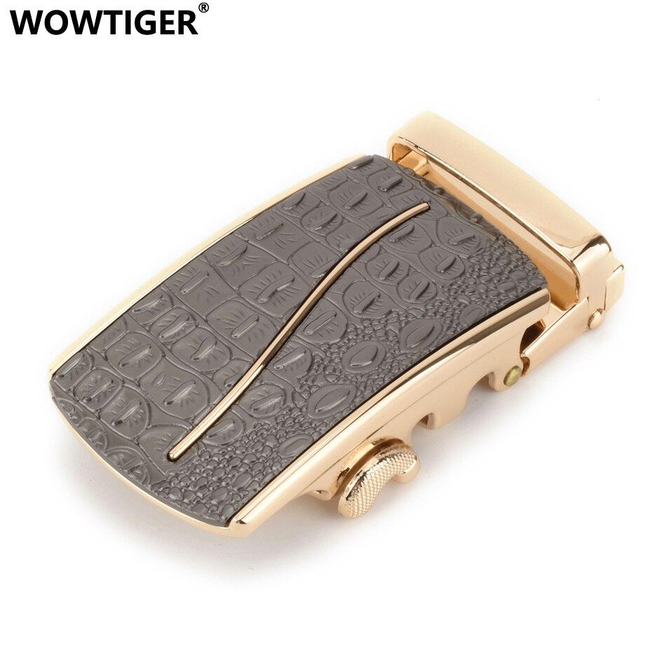 WOWTIGER High Quality Alloy Golden Automatic Belt Buckles 3.5cm Boucle De Ceinture Ebilla Cinturon Buckle Boucle Ceinture