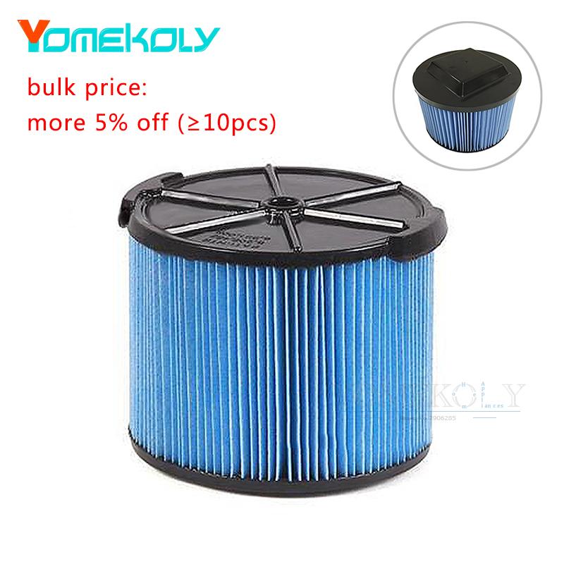 1pc Washable Vacuum Cleaner Replacement Filter For Ridgid VF3500 WD4050 3-Layer WD4050 Paper Vacuum Filter Accessories труборез ridgid 23488