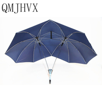 Automatic Two Person umbrella Parasol Lover Couples Umbrella Two Head Double men's paraguas fashionable umbrella rain women