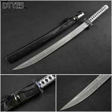 Echt Katana Schwerter High Manganese Steel Samurai Sword Handmade Katana Afiada Espada Samurai Katana Sword For Sale