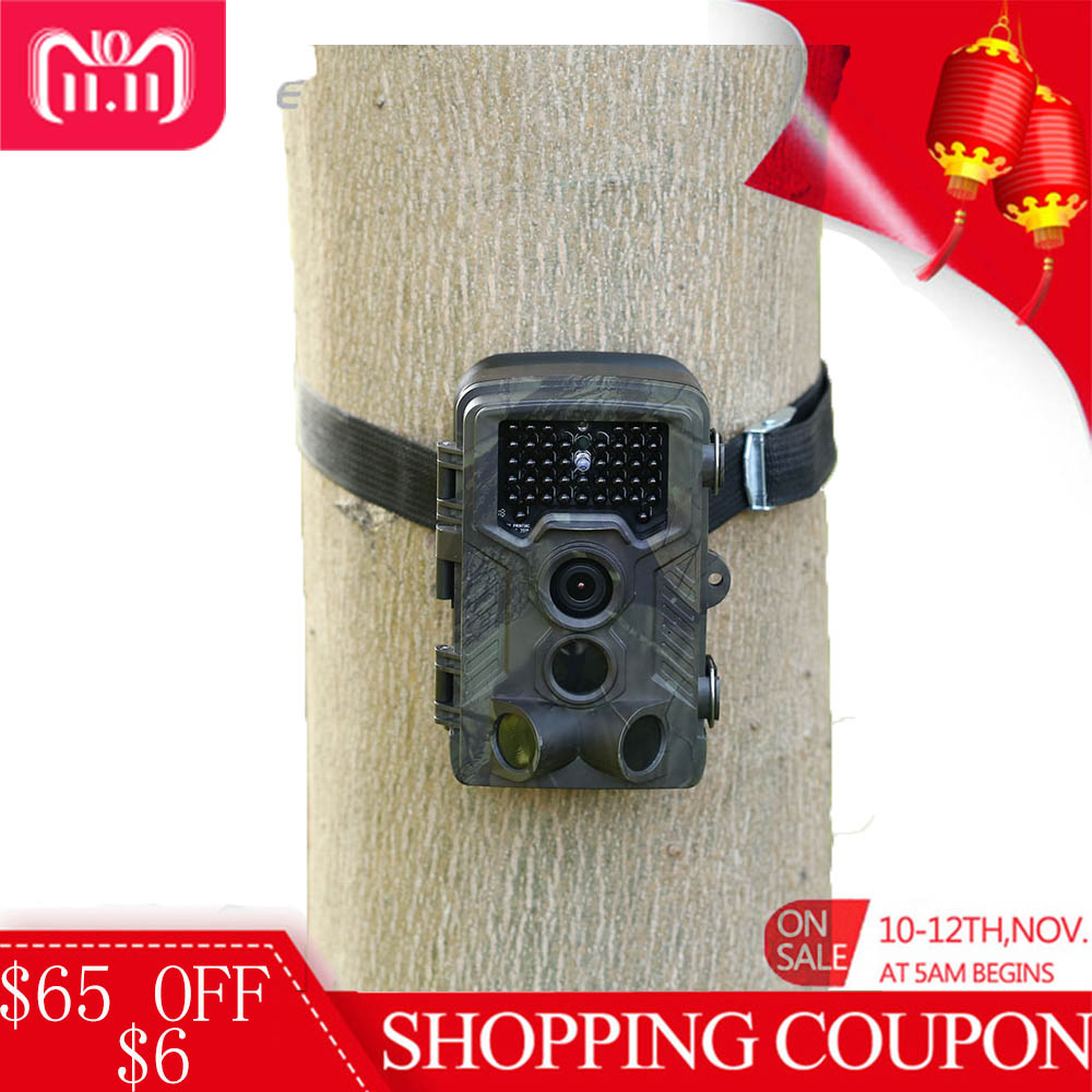 цена Outlife HC-800A Infrared Trail Cameras 1080P HD Digital Hunting Camera Waterproof Infrared Night Vision Wildlife Scouting Device