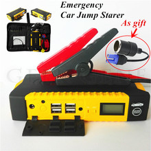 Emergency Car Jump Starter 600A Pack Portable Starting Device For Car Battery Booster Buster 12V Petrol Diesel Car Charger LED