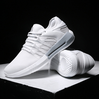 Hemmyi 2018 summer new breathable men casual shoes design light sneakers male shoes adult chaussure homme black white