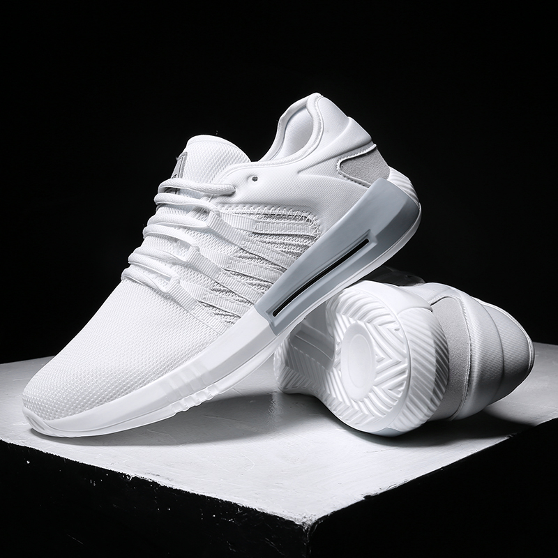 Hemmyi 2018 summer new breathable men casual shoes design light sneakers male shoes adult chaussure homme black white 2017 new chaussure homme mens shoes casual leather vulcanize hip hop white men platform summer hot sale breathable black shoes