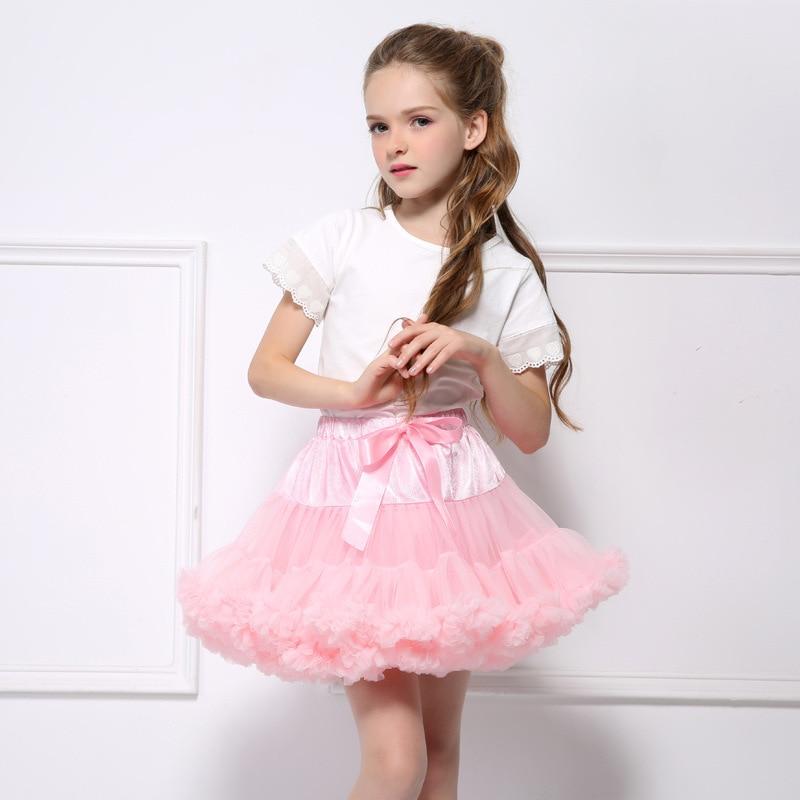 Chaffare Basic Girls Spódnice Dzieci Fluffy Pettiskirt Baby Girl - Ubrania dziecięce - Zdjęcie 1