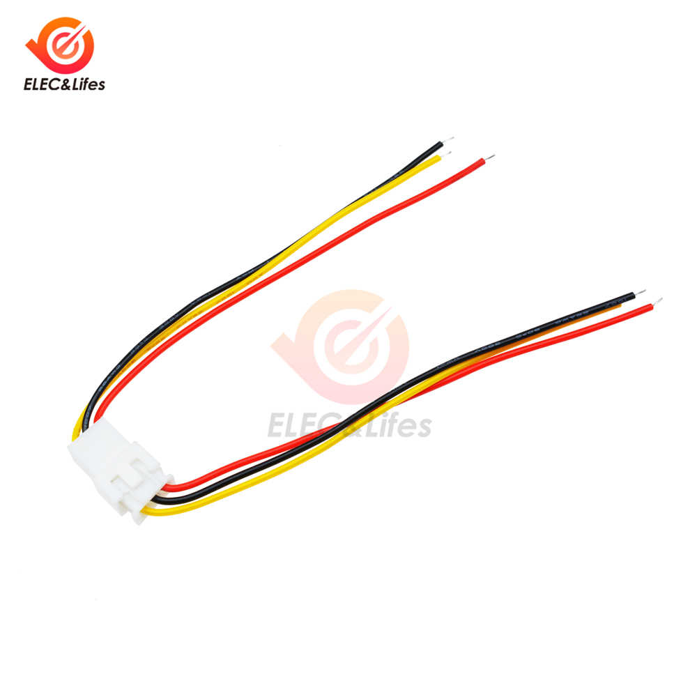 5 zestawów JST XH 2.54mm złącze kabla drutu 2 Pin 3pin Pitch mężczyzna kobieta gniazdo wtykowe 10cm 30cm długość drutu