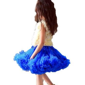 Girls Tutu Skirt Clothing Pettiskirt Fluffy Tutus Ballet Dance Princess Party Skirts Solid Kids Baby Girl Tutu Skirts Childer