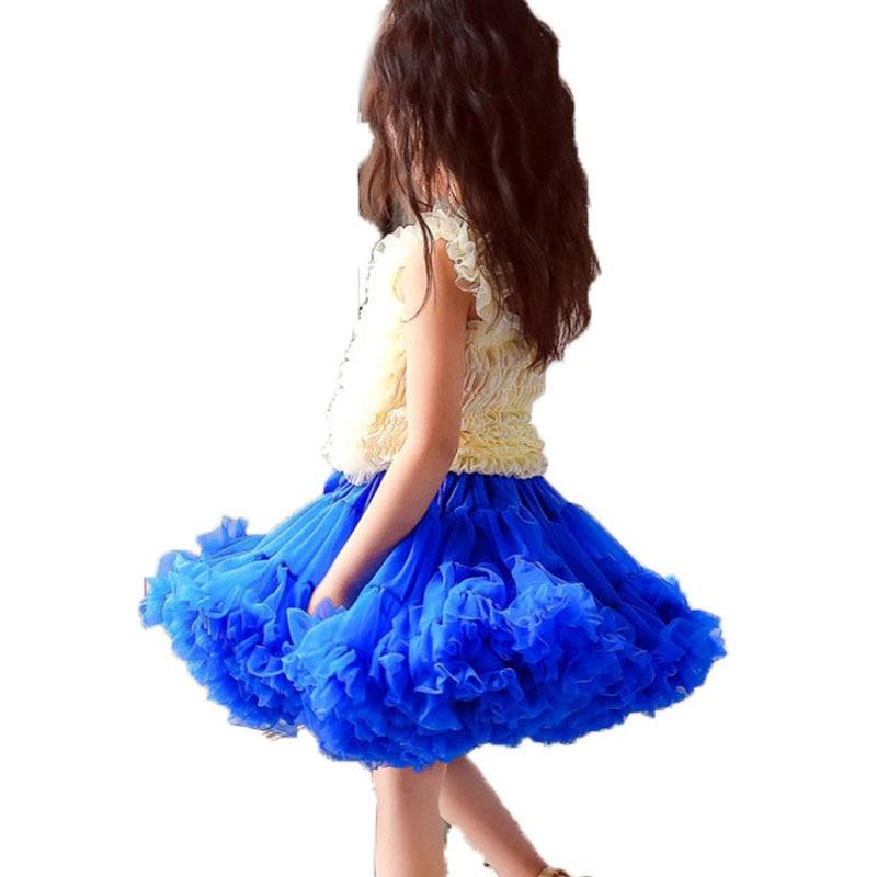Mädchen Tutu Rock Kleidung Pettiskirt Flauschigen Tutus Ballett Tanz Prinzessin Partei Röcke Solide Kinder Baby Mädchen Tutu Röcke Childer