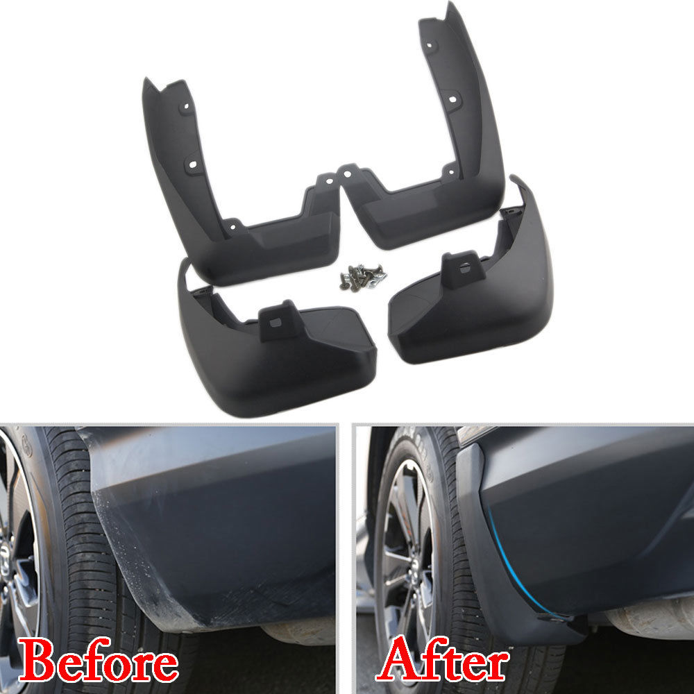 купить Molded Auto Fender Splash Guard Mud Flaps Car Front Rear Mudguards For Honda CRV CR-V 2007-2015 2017 2018 Car Styling Protector по цене 2647.82 рублей