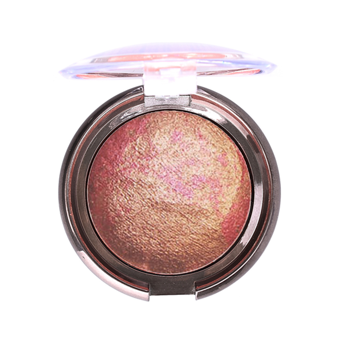 Hottest Shimmer Bronzer Highlight Powder Blush Palette Makeup Stardust-multi Silky Smooth Mineral Baked Cheek Color Blusher Beauty & Health Face