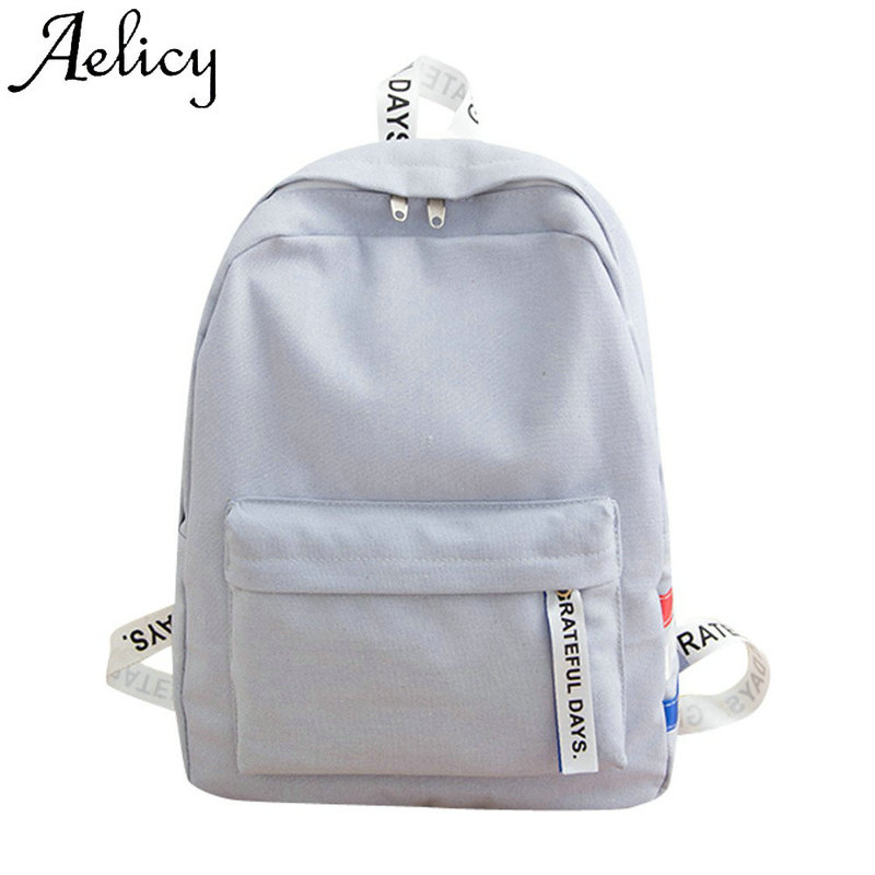 Aelicy Fashion Womens Backpack Large Capacity Stylish Waterproof Student Bag Backpack Phone Pocket High Quality Simple 2019Aelicy Fashion Womens Backpack Large Capacity Stylish Waterproof Student Bag Backpack Phone Pocket High Quality Simple 2019