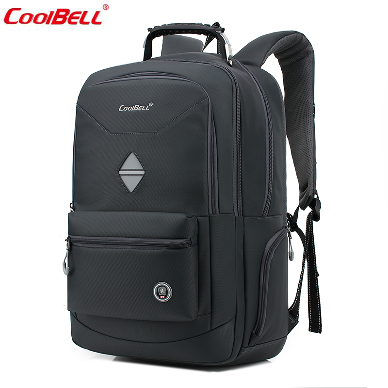 New Nylon Backpack Multifunction 17inch Anti-theft Business Big Computer Hand Bag School Bags Laptop Backpack for Women Men 5058 jacodel 2017 business 15 inch laptop bag computer backpack bags for men women school bag backpack for teenagers travel bags case