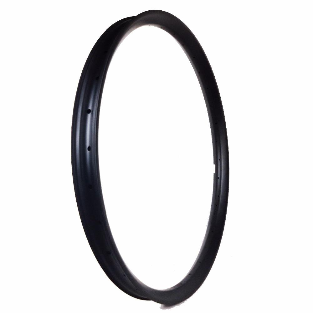 Carbon wielen voor MTB 27.5er achterwiel mtb 27.5 inch DH velgen 50X25mm cyclocross cyclus oem factory custom logo sticker beschikbaar - 4