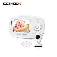 Wireless Video Baby Monitor 2 4 Inch Color Security Camera 2 Way Talk NightVision IR LED
