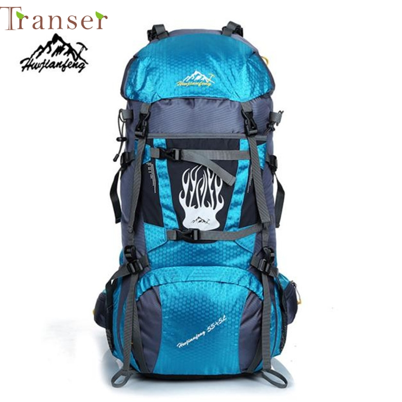 ФОТО Transer Fish SunDay Camping Travel Rucksack Waterproof Mountaineering Outdoor Backpack Hiking Bag  Levert Dropship Dec8