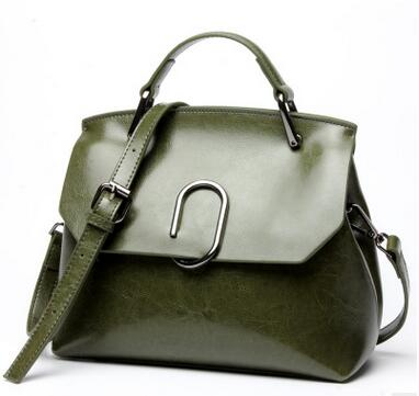 ФОТО NEW Fashion Spring Brand Genuine Leather Women Bags Cow Leather Flap & Crossbody Bags European and American Style 5