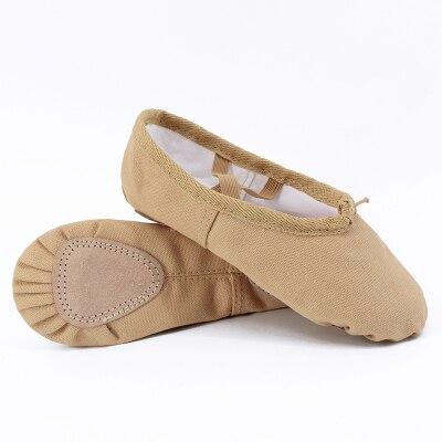 Les adultes//enfants BALLET TOILE Ballerine Escarpins//chaussures par Gandolfi £ 2.99