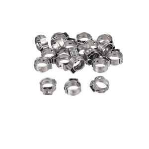 Image 3 - Proster 130Pcs Tuv 6 21Mm 304 Rvs Single Ear Traploze Slangklemmen Assortiment Cinch Clamp Ringen krimptang Kit