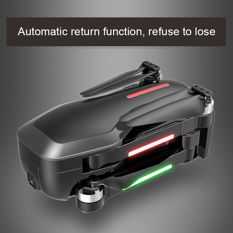 Image 2 - Folding Drone 4K HD camera Gesture photography  Long endurance Mini UAV One key return-in RC Helicopters from Toys & Hobbies
