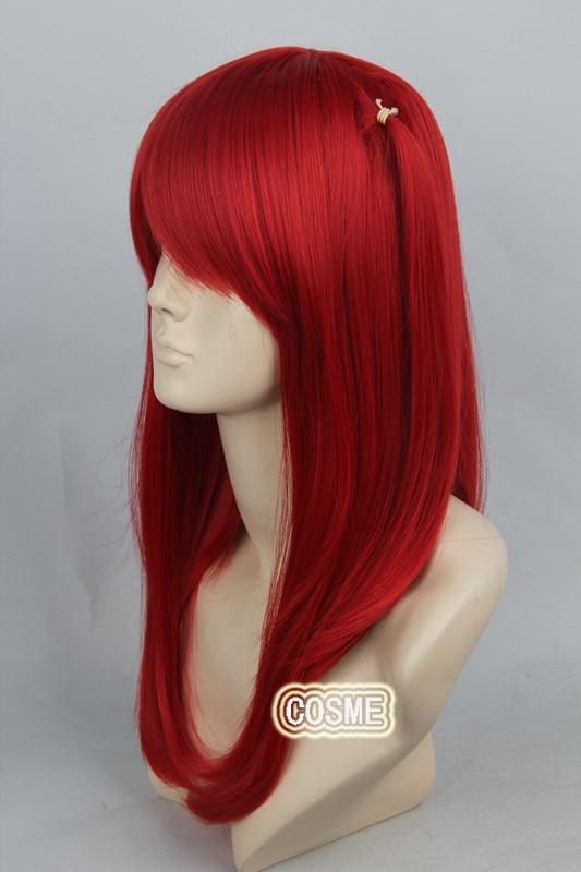 Magi Morgiana Wine Red 55cm Cosplay Wig Synthetic Cos Hair